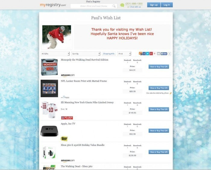 Make Christmas Shopping Easy This Year With MyRegistry