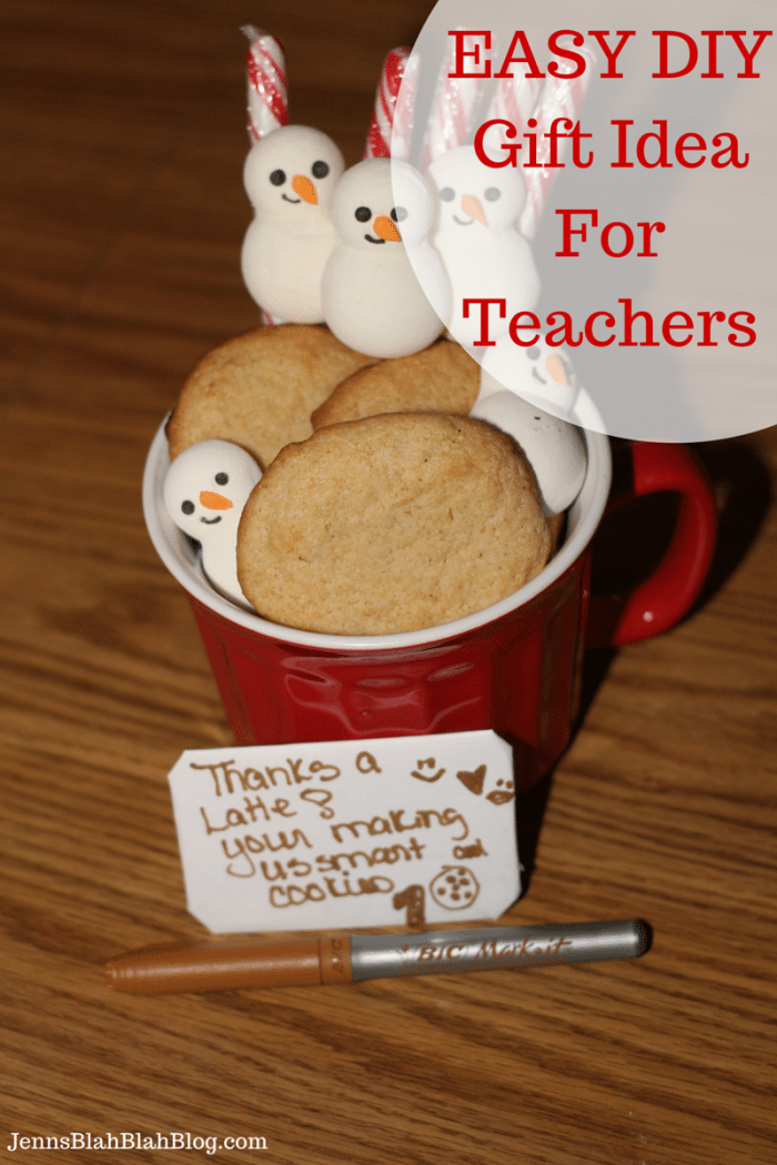EASY DIY Gift Idea For Teachers