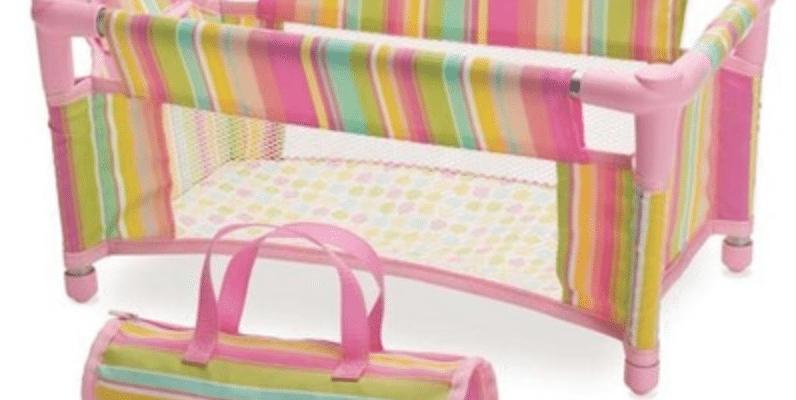 Enter to win a Baby Stella Take Along Travel Crib!