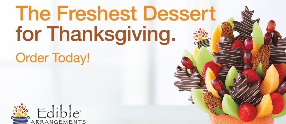 Make Your Thanksgiving Feast a Little Bit Lighter with Edible Arrangements