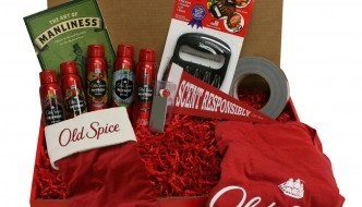 Old Spice Holiday Smellcome to Manhood Kit