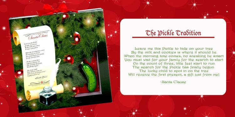 Pickle+Poem Start a New Christmas Tradition with Pickle Elf #Holiday ...