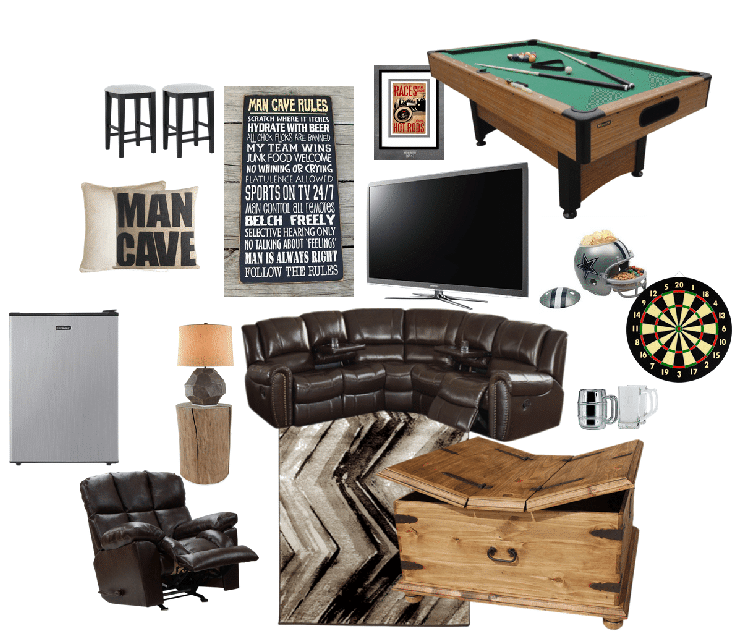 Man Cave Gift Ideas : Man cave makeover the perfect gift idea for your