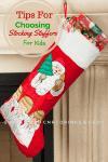 tips for choosing stocking stuffers for kids
