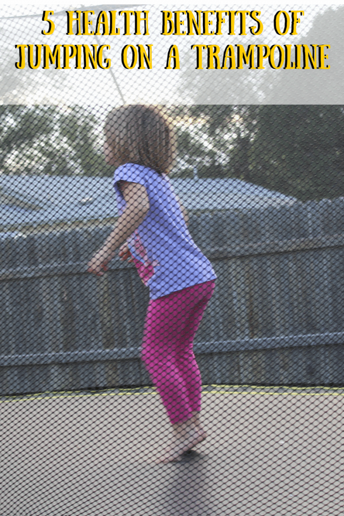 5 Health Benefits of Jumping on a Trampoline