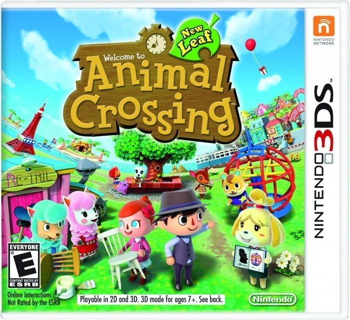Animal Crossing- New Leaf- Game Cover