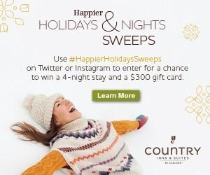 CIS_Holidays Sweeps_Influencer Tile_300x250