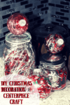 DIY Christmas Decoration & Centerpiece Craft