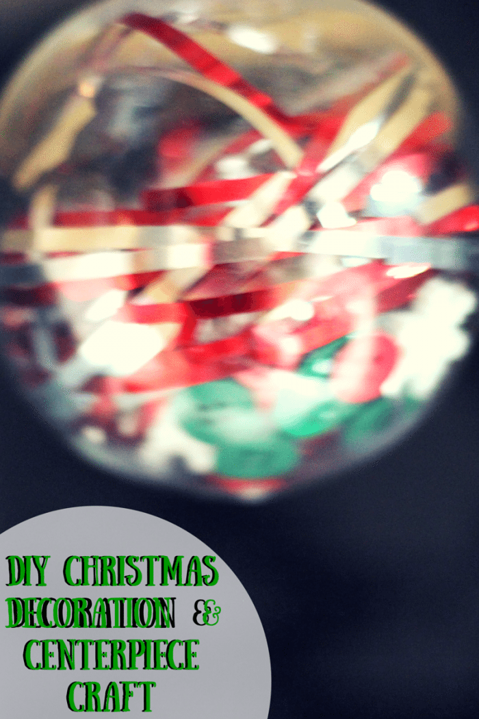 DIY Christmas Decoration & Centerpiece Craft for kids