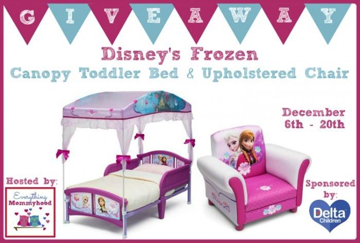 Disney S Frozen Bed Amp Chair Giveaway Jenns Blah Blah