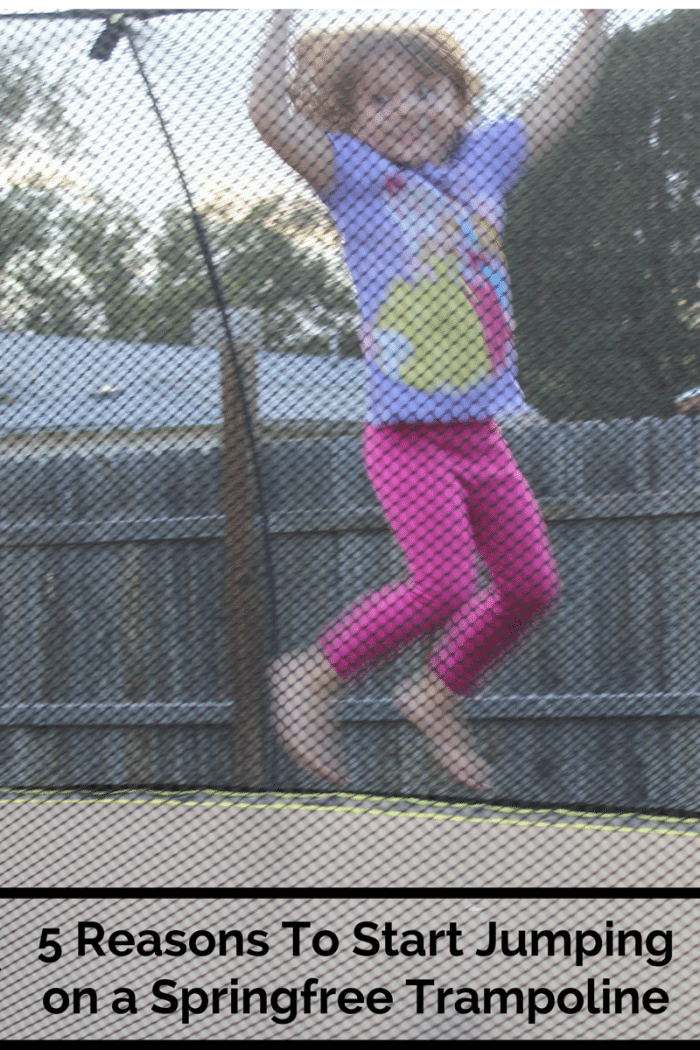 Jumping on a Springfree Trampoline