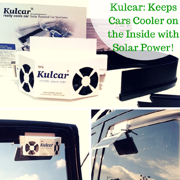 Kulcar: Keeps The Inside of Cars Cooler with Solar Power