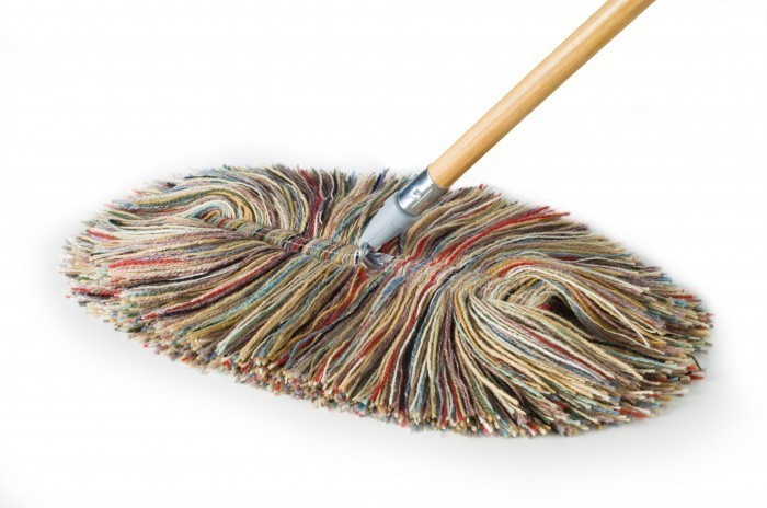 Sladust which is the world's finest mop