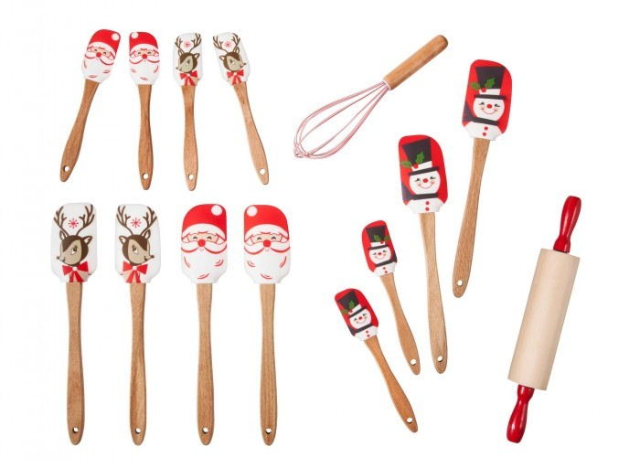 Target Holiday Spatulas, Wisk, & Rolling Pin