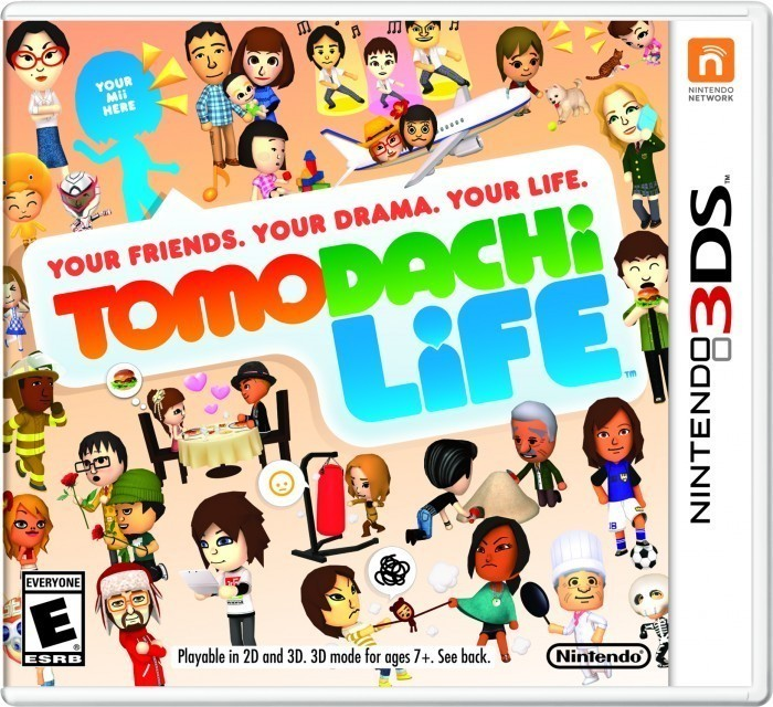 Tomodachi Life- Game Cover