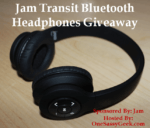Jam Transit Bluetooth Headphones Giveaway!