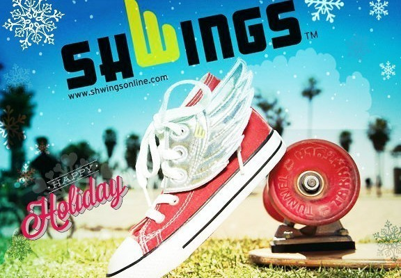 Have Your Kids Shoes Looking Cool All Year Long With Shwings!!