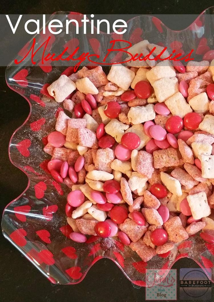 Valentines Day Muddy Buddies Recipe