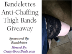 Bandelettes Anti-Chaffing Thigh Bands Giveaway