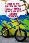 Enter To #Win Zum Zum The Coolest Wooden Balance Bike #Giveaway