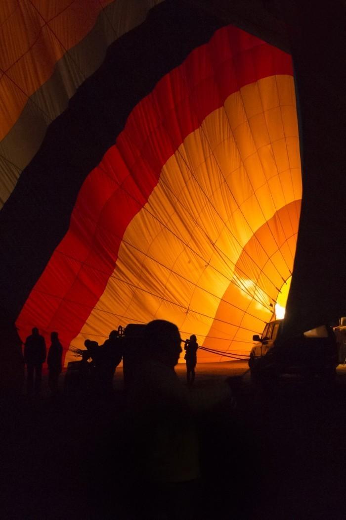 Albuquerque, New Mexico's Ballon Fiesta