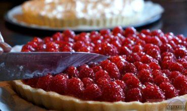 White Chocolate Raspberry Tart Recipe