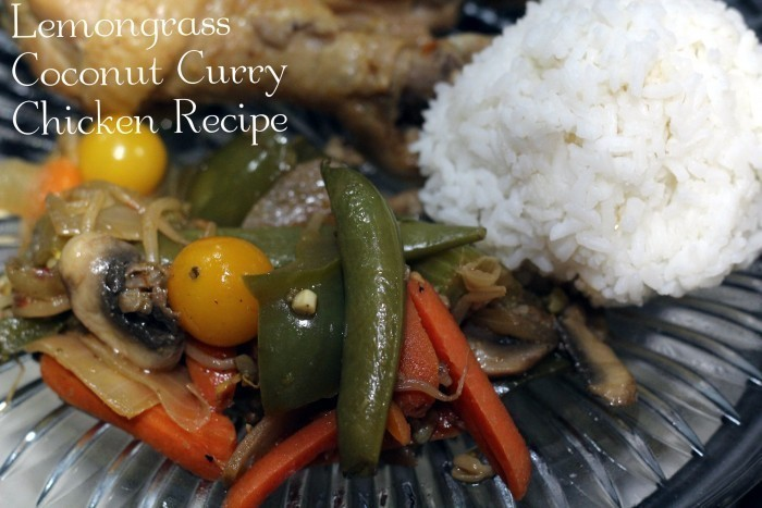 Lemongrass Coconut Curry Chicken Recipe