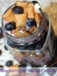 Blueberry Pie Yogurt Parfaits | Keeping Things Wholesome on Snow Days