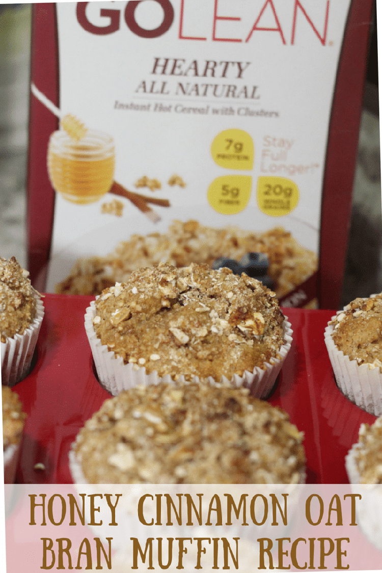 Honey Cinnamon Oat Bran Muffin Recipe