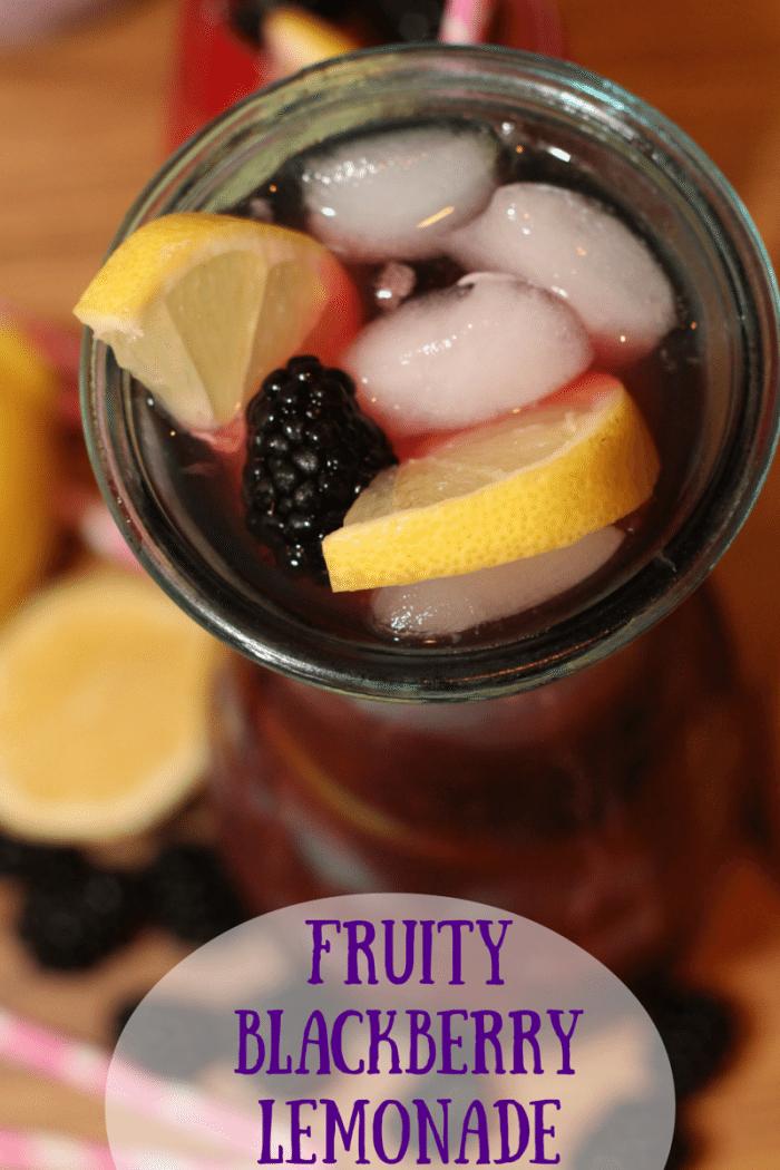 Fruity Blackberry Lemonade Recipe