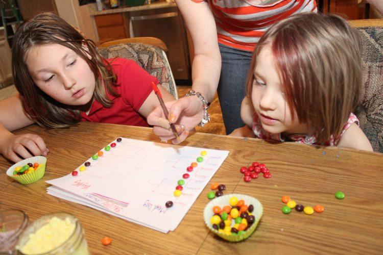 Party On With a Skittles Tourney Game & Cupcakes Decorating Contest