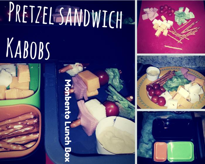 Monbento Pretzel Sandwich Kabobs