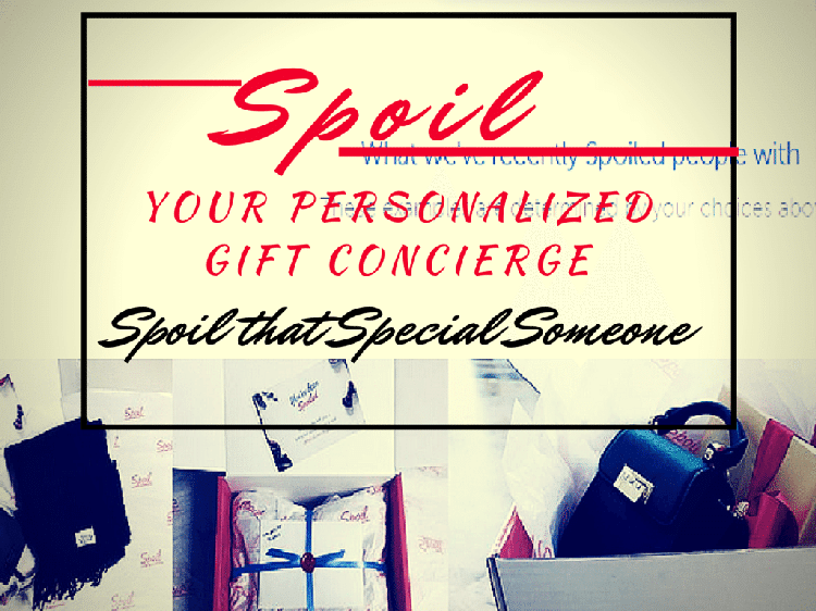Spoil, Your personal Gift Concierge