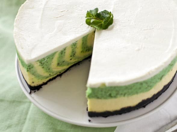 St. Patrick's Day Cheesecake