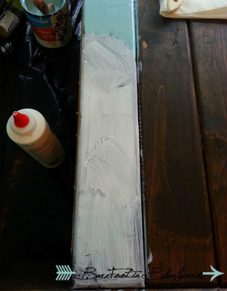 DIY Crackle Paint and Easy Lettering project