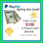 $150 in Paypal Cash Giveaway