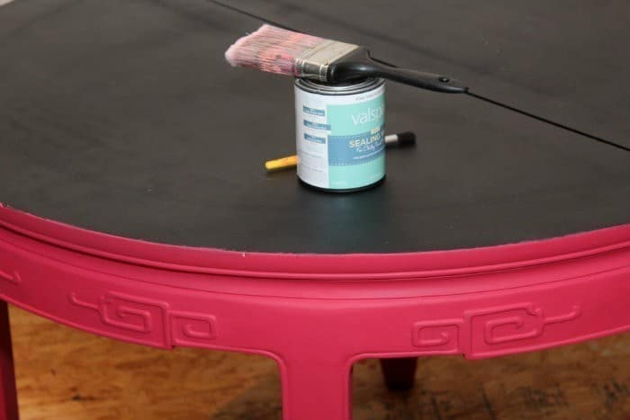 valspar chalky finish paint from lowes diy craft