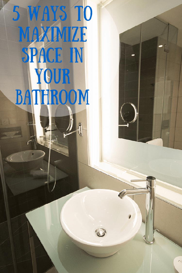 5 ways to maximize space in your bathroom - Maximize space in small bathroom ...