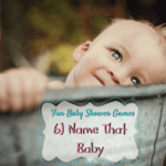 8 Fun Baby Shower Games