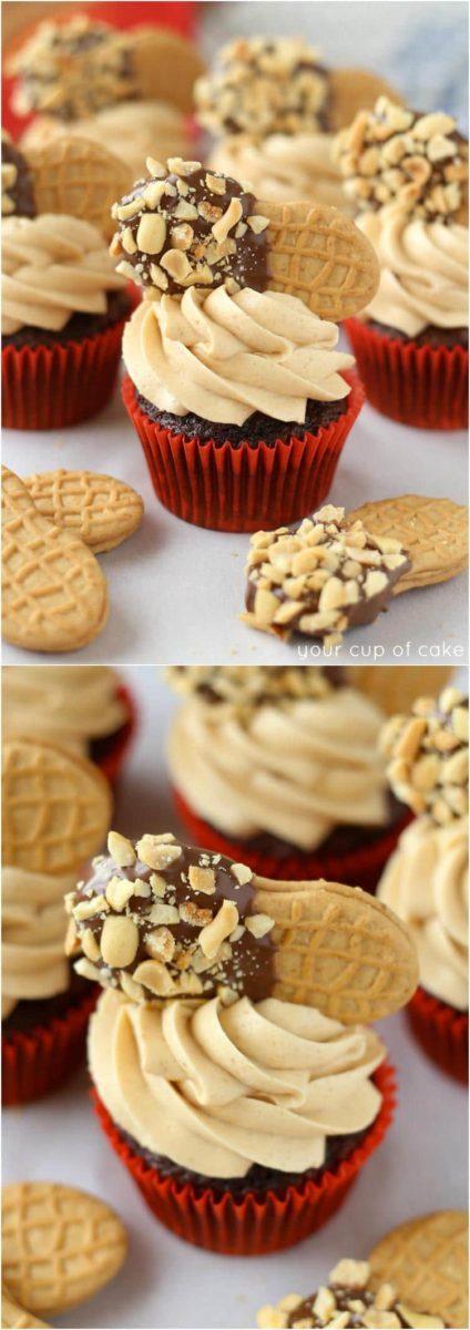 Chocolate Nutter Butter Cupcake Recipes