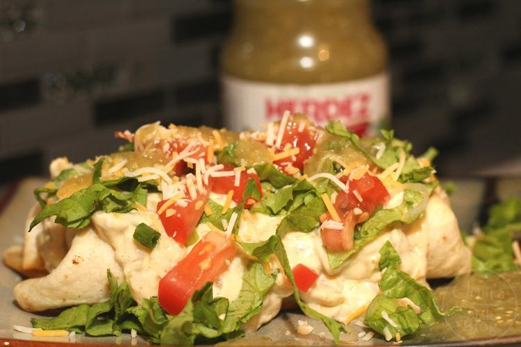 Dia Del Nino recipes Try This Smothered Chicken Chimichangas recipe
