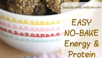 Easy No-Bake Energy and Protein Balls