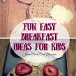Fun and Easy Breakfast Ideas For Kids | Bunny Waffles