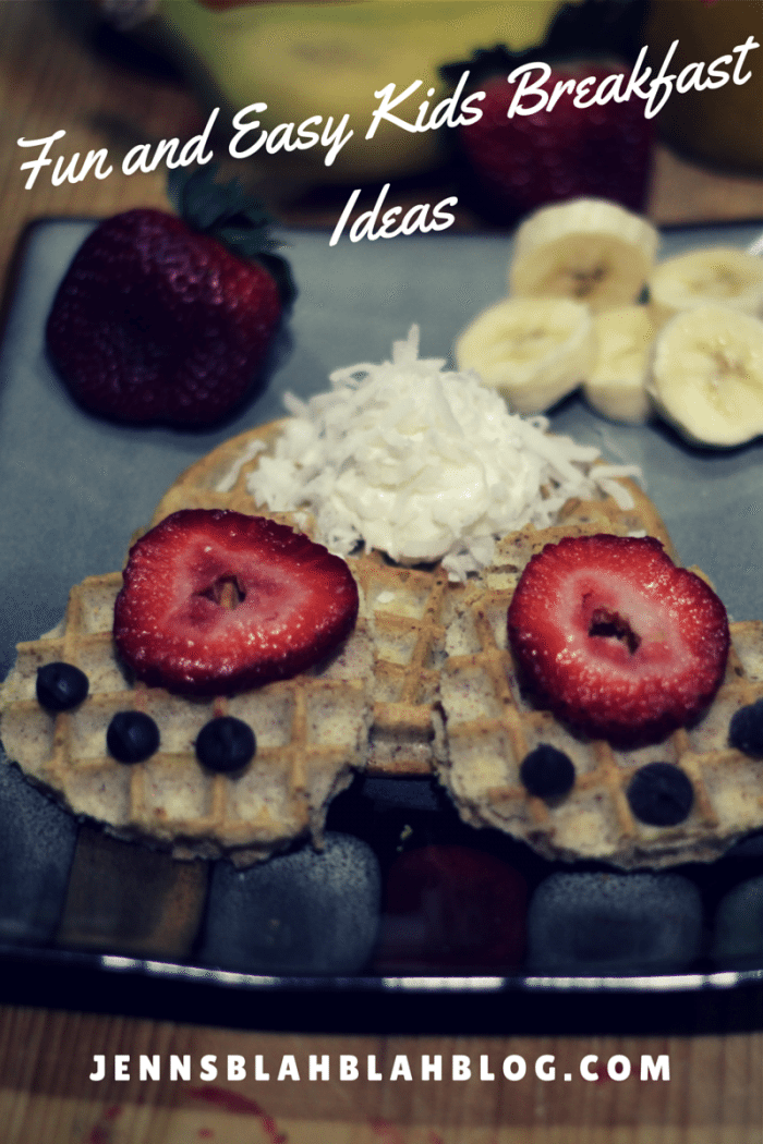 Fun and Easy Kids Breakfast Ideas - Bunny Waffles