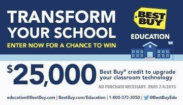 Best Buy for Education Sweepstakes | Transform Your School