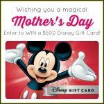 $500 Disney Gift Card Sweepstakes