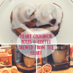 Heart Cinnamon Rolls For Mother's Day