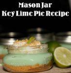 Key Lime Pie in a Mason Jar