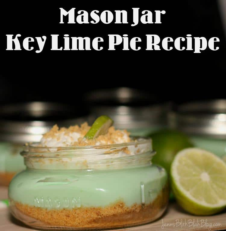 Mason Jar Key Lime Pie & Mason Jar Cherry Pie Recipes