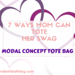 7 Ways Mom Can Tote Her Swag | Modal Concept Tote Bag